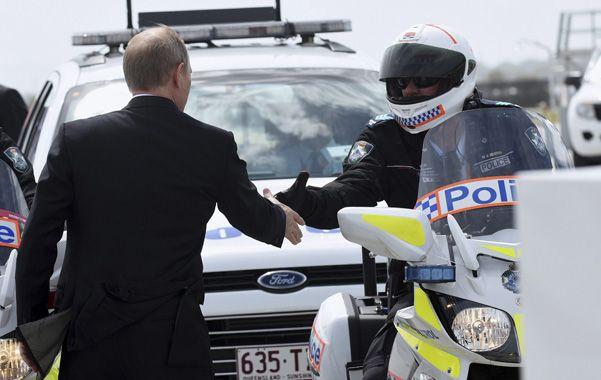 Ucrania le arruinó la cumbre del G-20 a Putin, que se retiró antes de su cierre