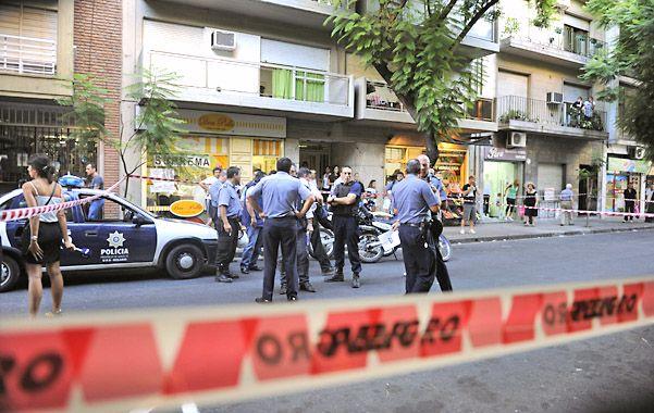 El 5 de febrero pasado Peralta asesinó en 3 de febrero al 1000 al agente policial Carlos Dolci. (Fotos: C. Mutti Lovera)
