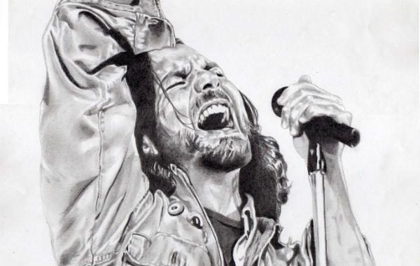 El retrato de Eddie Vedder
