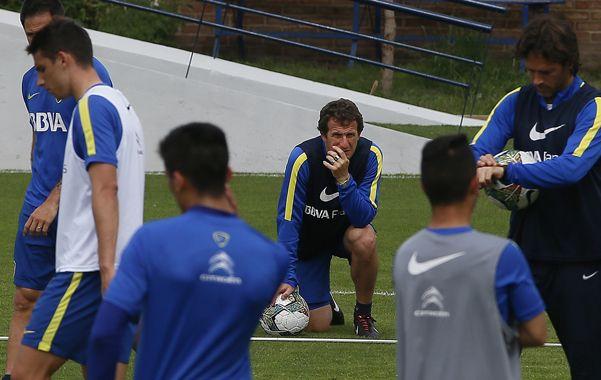 El equipo que probaría hoy sería con Agustín Orión; Pérez