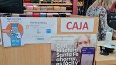 El sistema Billetera Santa Fe tiene 16 mil comercios adheridos.