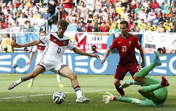 Alemania aplastó a Portugal con una goleada que reafirma su condición de candidato