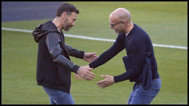 Cristian González y Paolo Montero.