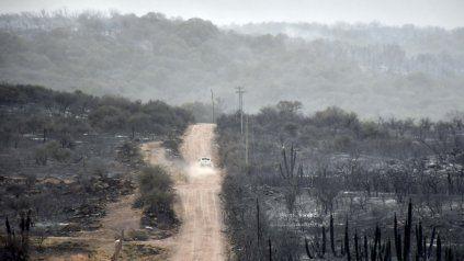 Los incendios forestales tienen a mal traer a Córdoba y en estos días el riesgo aumenta.