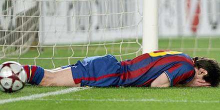 Messi también sufre en Barcelona: los catalanes cayeron por la Champions