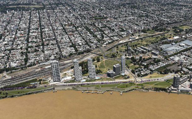 Frente costero. Con el nuevo parque culminará un largo proceso de reconversión urbanística junto al Paraná.
