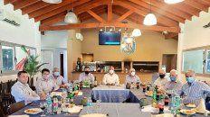 Nueve dirigentes de AFA se reunieron para avanzar en el tema de la televisación de los partidos.