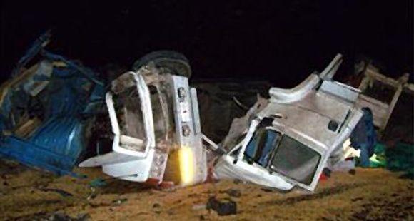 Accidente fatal en la ruta 9: un transportista murió en un choque frontal en Cañada de Gómez