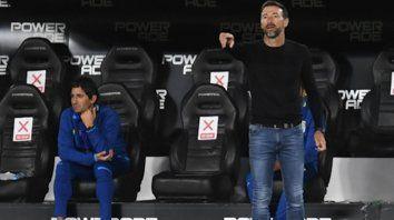 """El DT explicó: """"Vos preparás un partido y después te cobran un penal como el de hoy. No es excusa, pero me da mucha rabia que pasen estas cosas""""."""