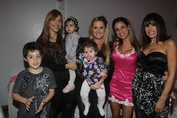Marina Calabró y Martín Virasoro festejaron el cumpleaños de Mía