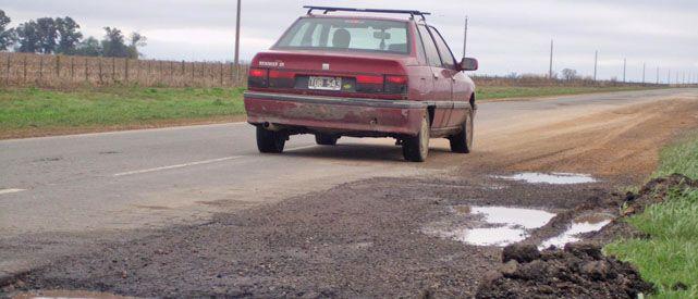 El pésimo estado de la ruta generó una ola de reclamos por parte de las localidades involucradas. Ahora vendrán los arreglos