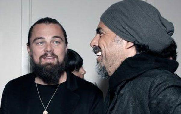 En Argentina. DiCaprio junto al director mexicano González Iñárritu.