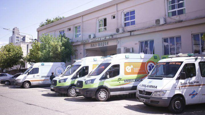 Covid-19: hospital San Roque trabaja a cama caliente
