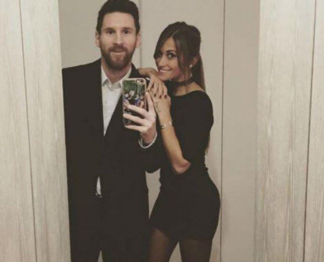 Antonella publicó una foto en Instagram antes de ir a la gran fiesta.