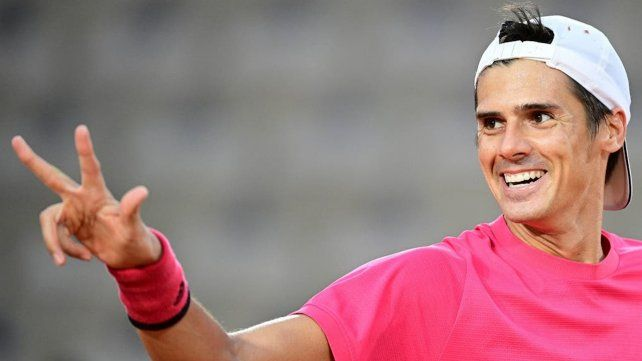 Federico Coria va por la tercera victoria en Roland Garros.