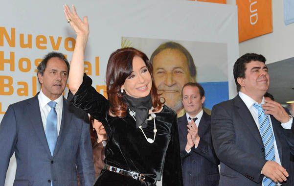 La última aparición pública de la presidenta de la Nación fue el viernes en La Matanza.