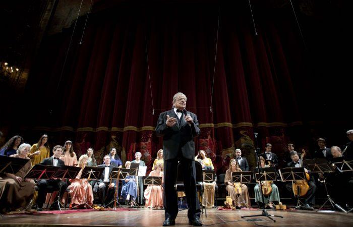 En acción. Hernández Larguía se caracterizó por su talento y pasión por la música.
