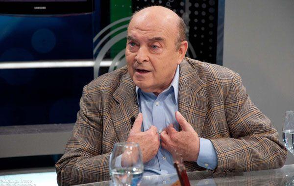 El ex ministro de Economía de los gobiernos de Menem y De la Rúa.