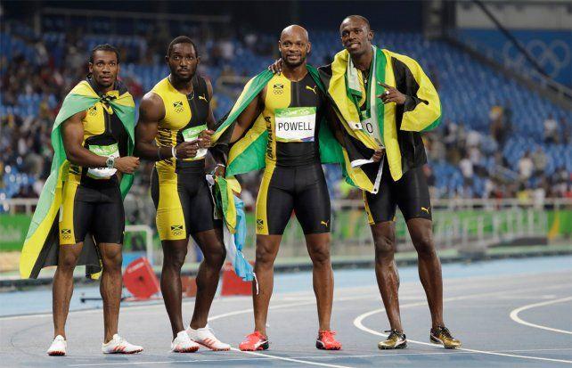 Bolt se impuso en el 4x100 con Jamaica y se despide con nueve oros olímpicos