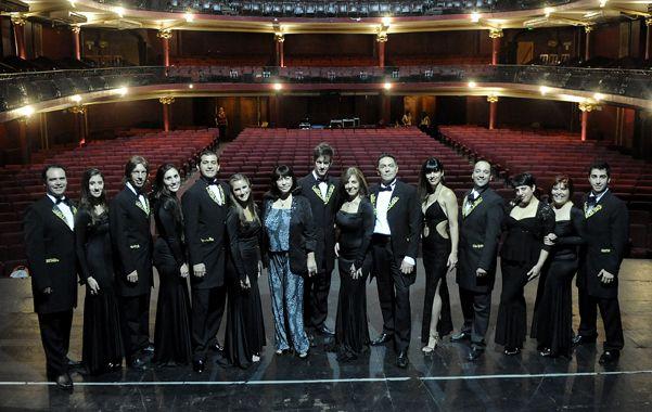 Protagonistas. Pecky Land y Martín Selle encabezan la propuesta del Broadway con los mejores musicales.