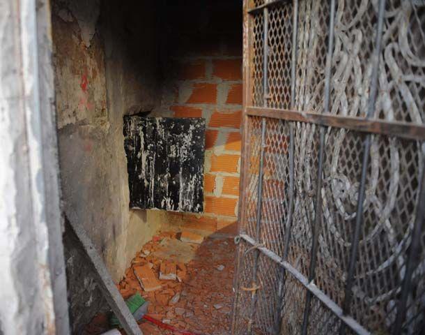 Los vecinos de zona sur arremetieron contra el búnker de Moreno al 5500. (Foto: S. Suárez Meccia)