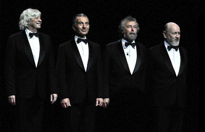 Les Luthiers en el primer show tras la muerte de Daniel Rabinovich.