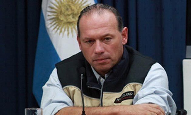 Berni fue uno de los primeros en llegar a la torre Le Parc en Puerto Madero. Unos minutos antes del juez