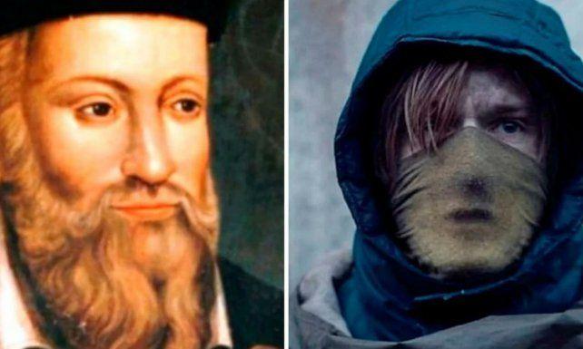 Nostradamus y el protagonista de Dark