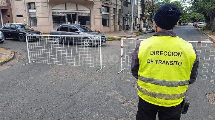 Cortes de tránsito