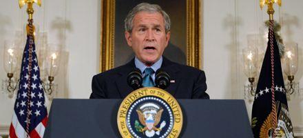 Bush augura un daño doloroso y duradero si no se aprueba el plan