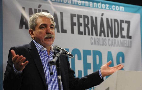 El senador nacional Aníbal Fernández dijo que no quiere victimizarse.