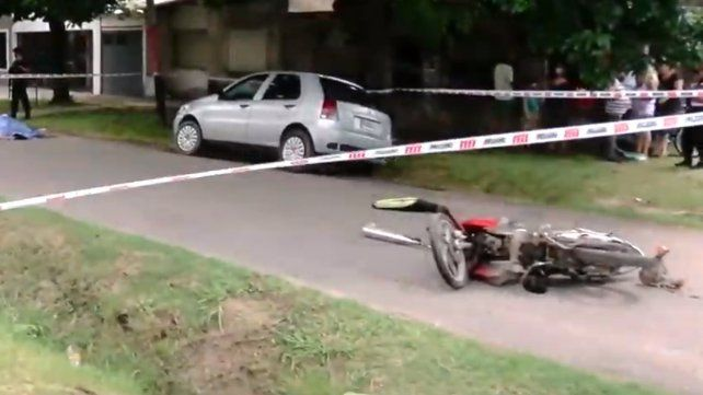Una mujer que viajaba como acompañante en una moto murió tras un siniestro vial