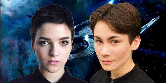 Blu del Barrio e Ian Alexander interpretarán a los personajesAdira y Gray.