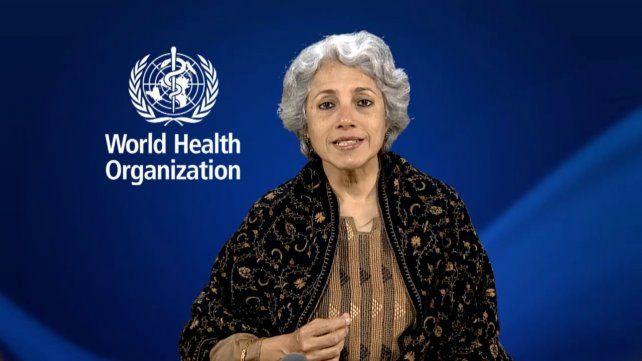 La representanteSoumya Swaminathan.