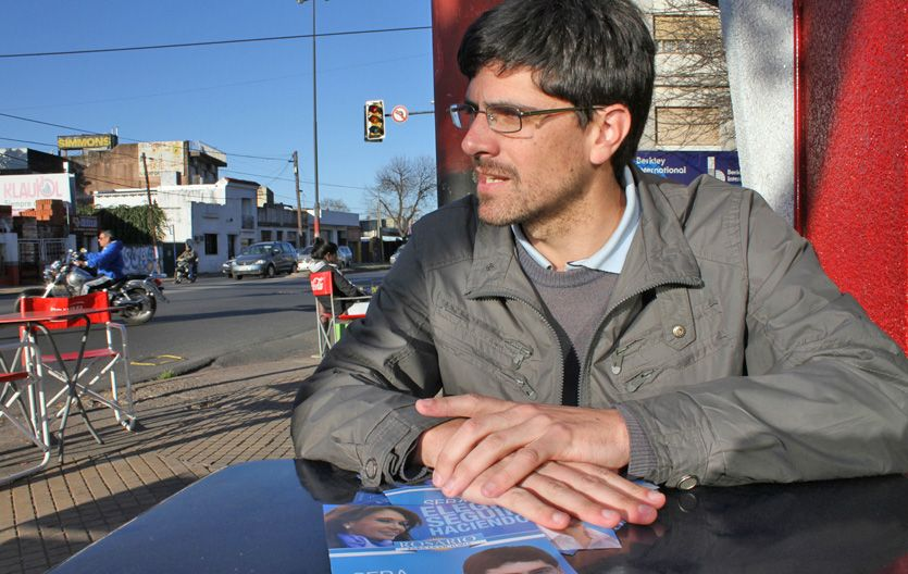 Mirando el futuro. Artola es un kirchnerista nacido en la universidad.