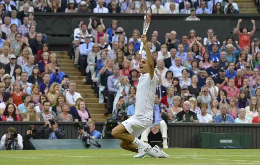 Federer no ganaba un Grand Slam desde enero de 2010 y ahora llegó a los 17
