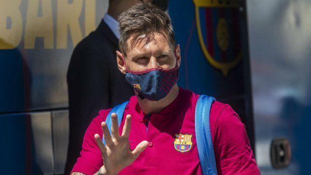 Messi ya manifestó su deseo de no continuar en Barcelona.