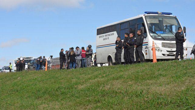 En la ruta. La evasión se produjo el 8 de mayo en la autopista a Santa Fe.