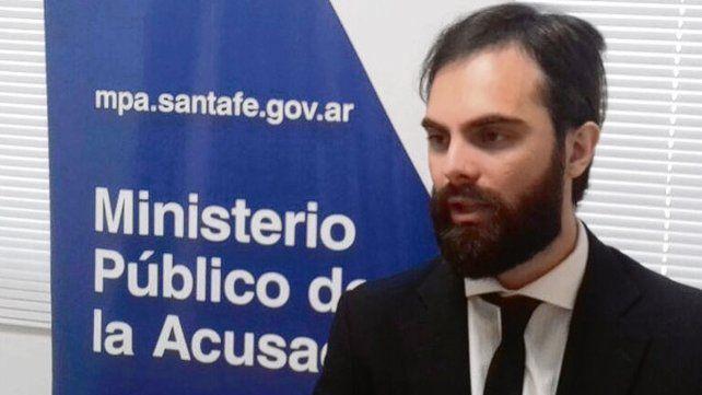 investigador. El fiscal Ezequiel Hernández llevó adelante la pesquisa.