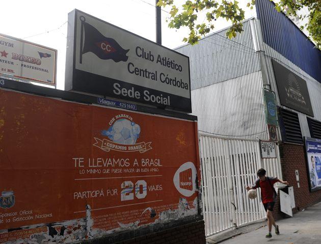 El boliche funcionaba dentro de las instalaciones de la sede del club charrúa.