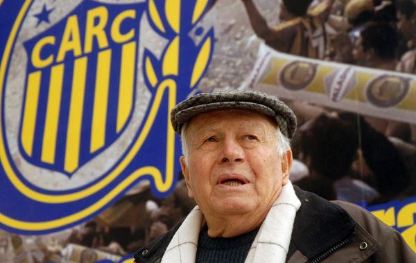 Ángel Zof tenía 86 años. Fue técnico de Central en 607 partidos y logró tres títulos. (foto: Sergio Toriggino)