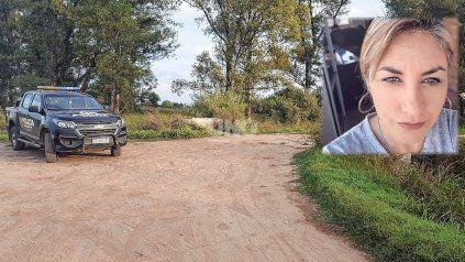 El lugar donde se encontró el cuerpo de Marcela Maydana, víctima de femicidio.