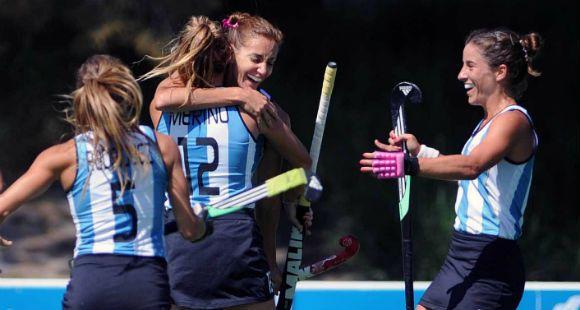Las Leonas golearon 4-0 a Chile y pelearán por la medalla dorada