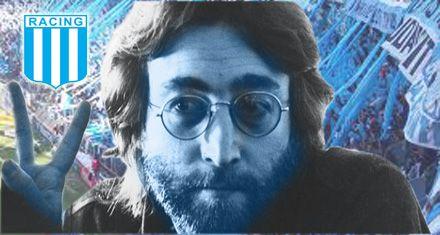 Apareció otro hincha famoso: ahora dicen que John Lennon era fanático de Racing
