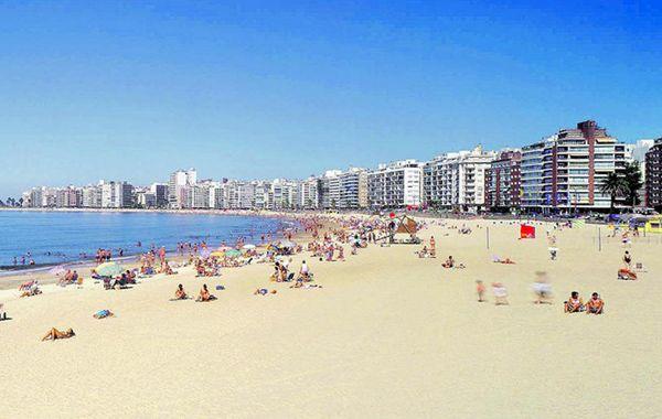 La playa de Pocitos