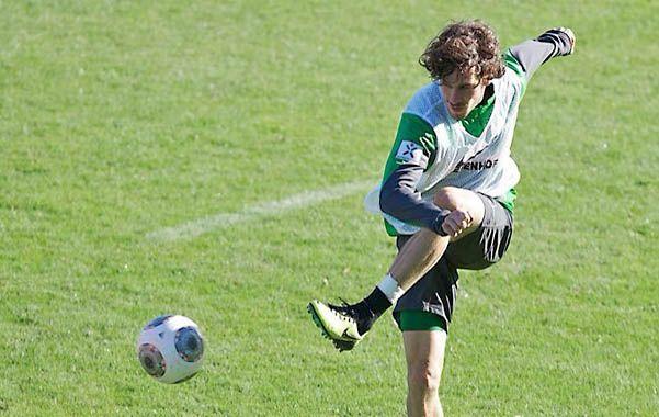 Santiago García disfruta de su buen presente en Werder Bremen.