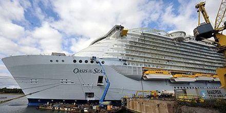 El mayor crucero del mundo se lanza a la aventura entre lujo y diversión