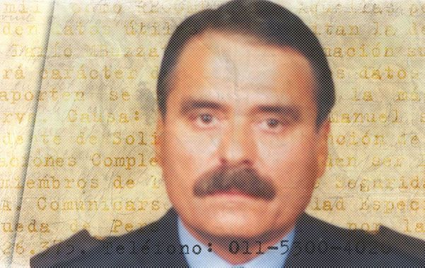 Cazado. El Estado nacional distribuyó esta fotografía al momento de ofrecer una recompensa de 100 mil pesos por Buzzato.