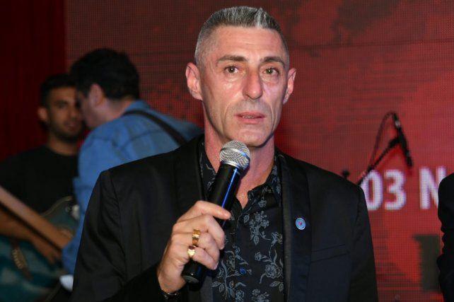 Cristian D'Amico celebró la vuelta del fútbol argentino. Newells tiene una zona chiva.