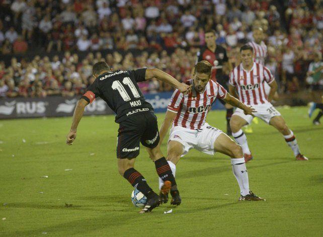 Maxi Rodríguez se quejó de que a Newells lo perjudican
